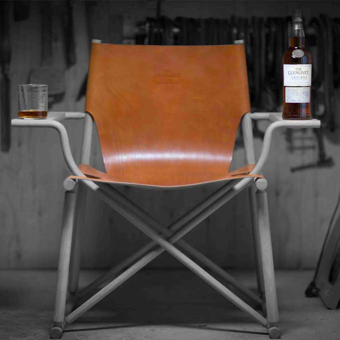 whisky dram chair